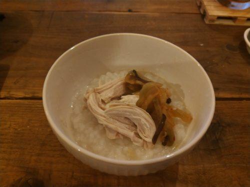 簡単中華粥です。