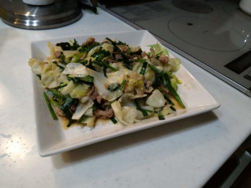 副菜を作りました