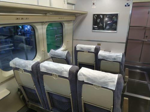100系新幹線客室