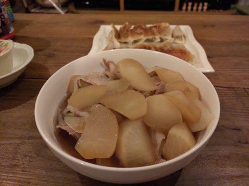 大根と豚バラ肉の煮込み